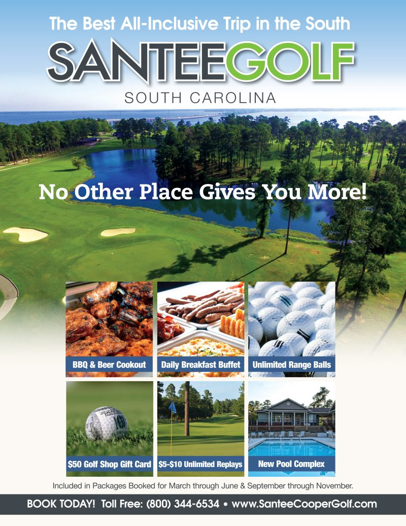 all inclusive packages santee cooper golf. Black Bedroom Furniture Sets. Home Design Ideas